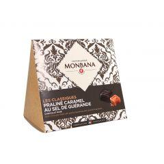 Les classiques, chocolat noir praliné caramel au sel de Guérande