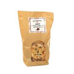 Cookies pépites de chocolat au lait et caramel au beurre salé d'Isigny (AOP)