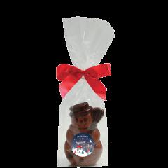 Bonhomme de neige chocolat au lait