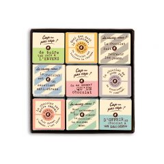 """Coffret collection de 18 carrés  """"ludique"""""""