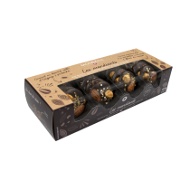 Coffret duo de mendiants au chocolat noir