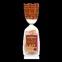 Assortiment de 50 carrés de chocolat au lait