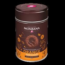 Chocolat en poudre arôme orange